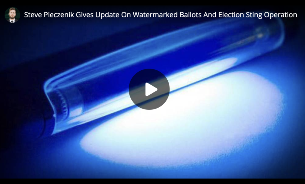 Steve Pieczenik Gives Update On Watermarked Ballots And Election Sting Operation EXZM Zack Mount May 17th 2021