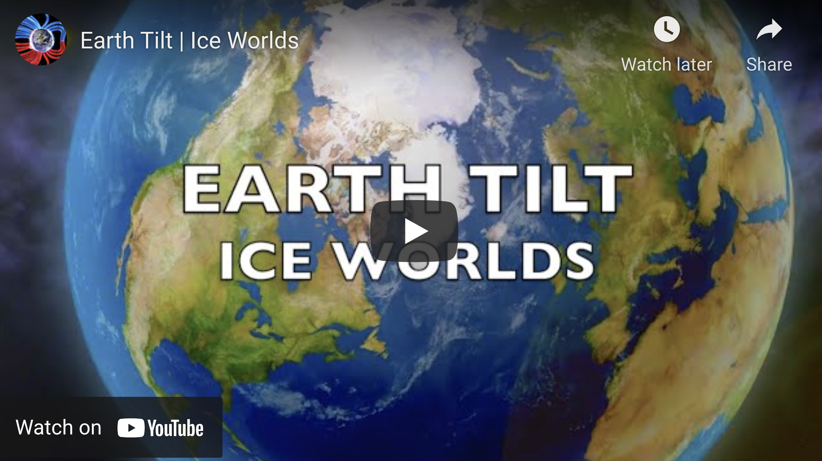 Suspicious Observers Post Earth Tilt Ice Worlds EXZM Zack Mount July 10th 2021