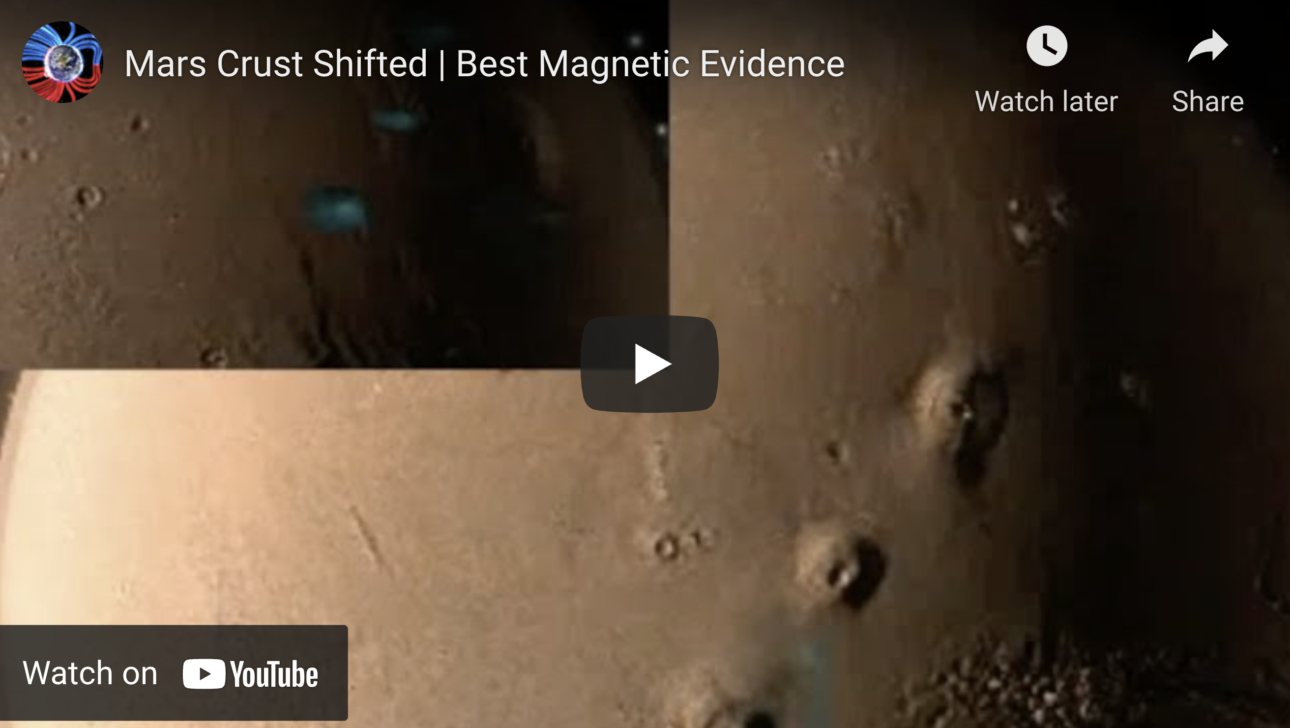 Suspicious Observers Post Mars Crust Shifted Best Magnetic Evidence EXZM Zack Mount July 2nd 2021