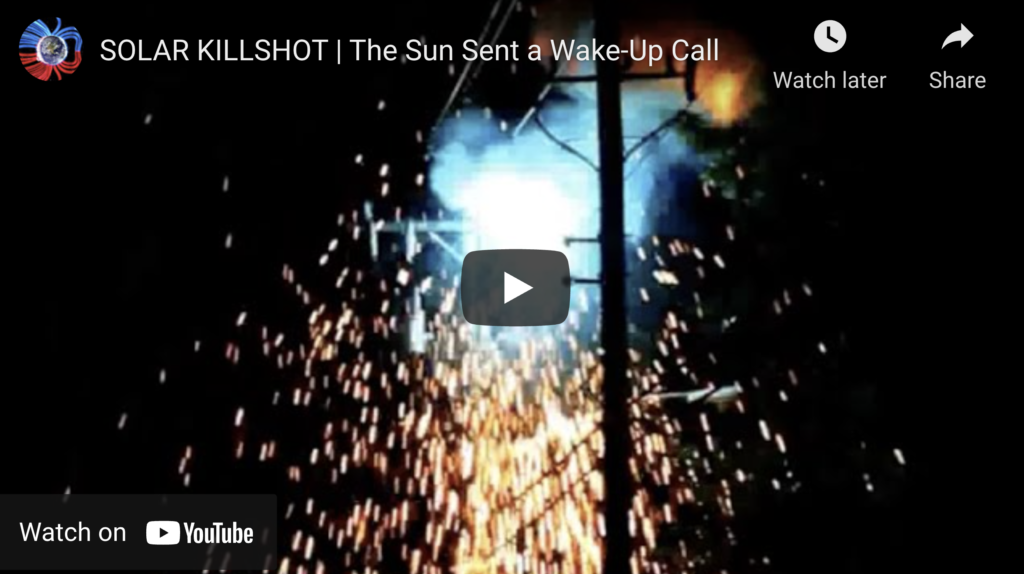 Suspicious Observers Post SOLAR KILLSHOT The Sun Sent a WakeUp Call EXZM Zack Mount July 18th 2021