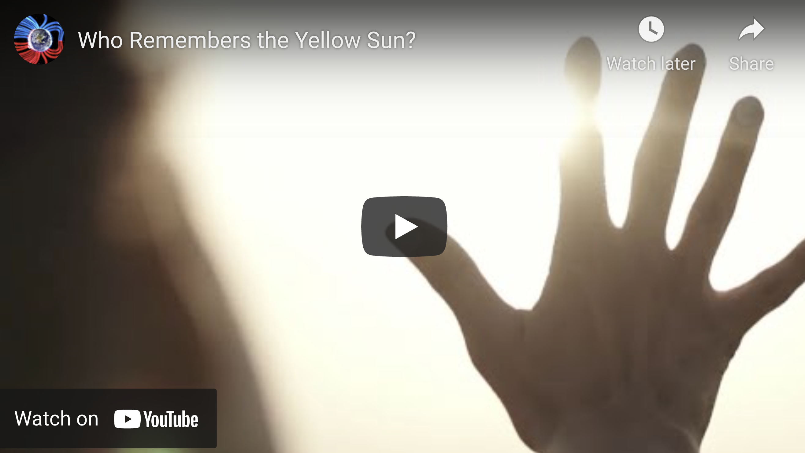 Suspicious Observers Post Who Remembers the Yellow Sun EXZM Zack Mount July 25th 2021