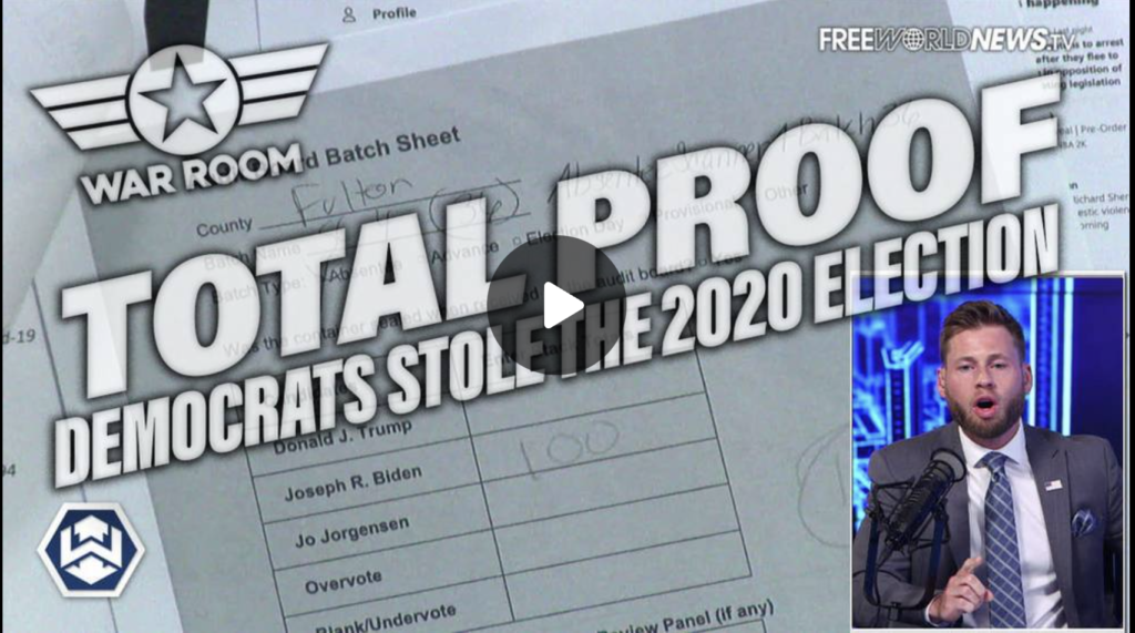 TOTAL PROOF Democrats Stole The 2020 Election And Heres How EXZM Zack Mount July 14th 2021
