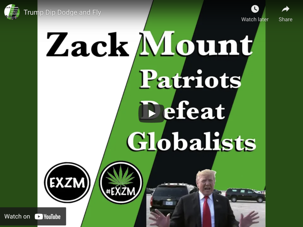 Trump Dip Dodge and Fly By Zack Mount EXZM Zack Mount March 29th 2019