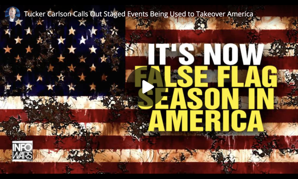 Tucker Carlson Calls Out Staged Events Being Used to Takeover America EXZM Zack Mount June 17th 2021