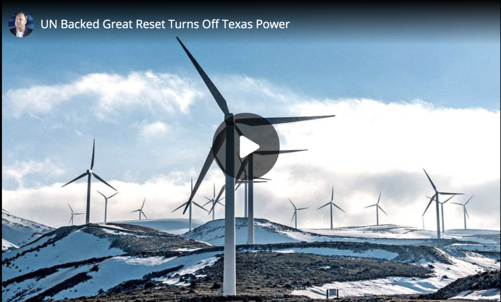 UN Backed Great Reset Turns Off Texas Power EXZM Zack Mount February 15th 2021