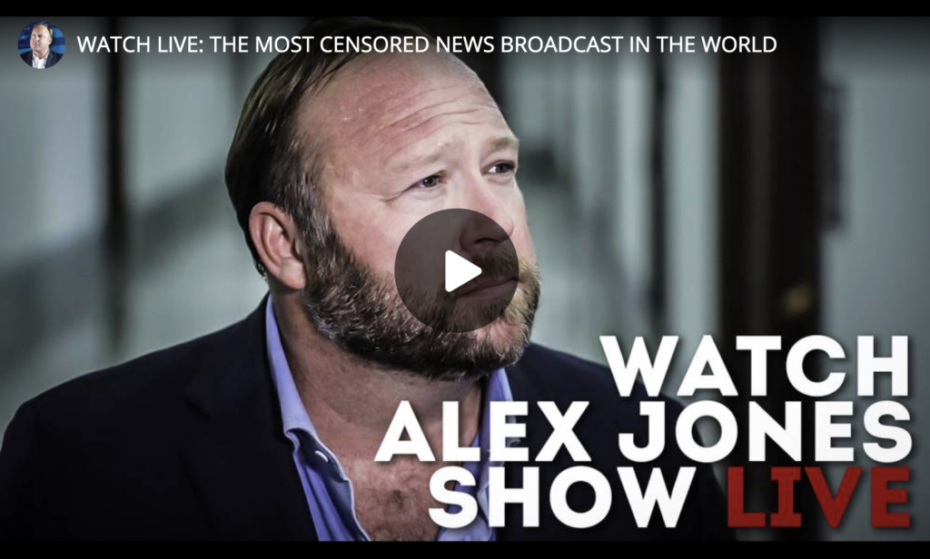 Watch Alex Jones Live The Most Censored News Broadcast In The World EXZM Zack Mount July 10th 2021