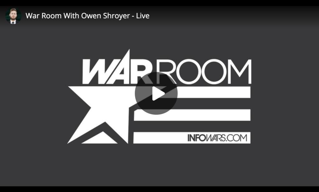 Watch Live War Room With Owen Shroyer EXZM Zack Mount July 10th 2021