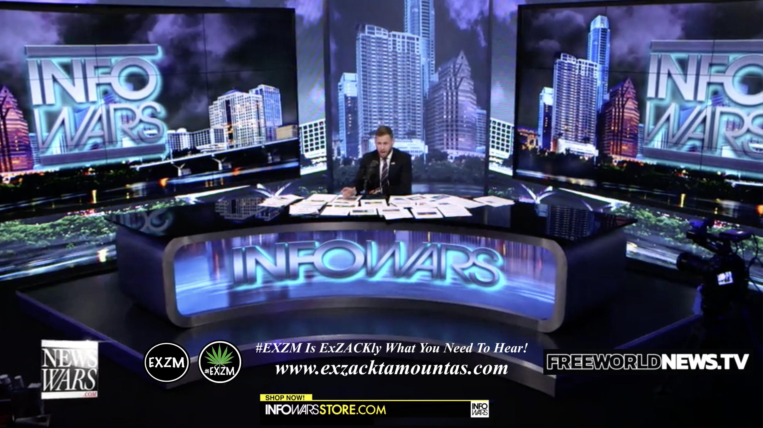 Alex Jones Owen Shroyer Live In Infowars Studio Free World News TV EXZM Zack Mount August 13th 2021 copy