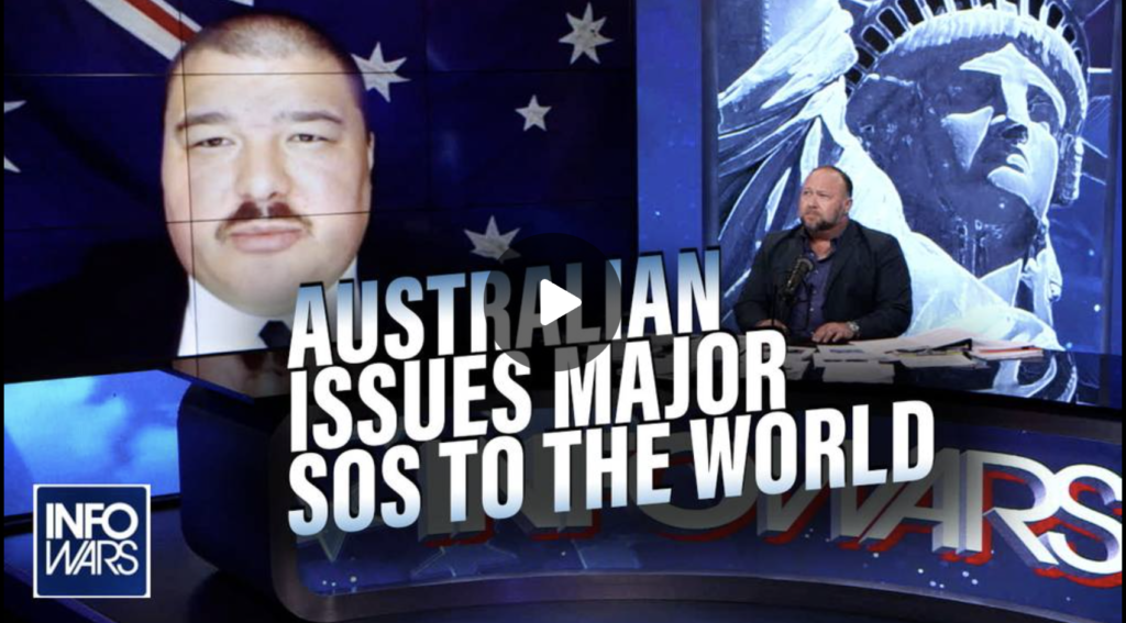 Australian Citizen Issues Major SOS to the World EXZM Zack Mount August 27th 2021