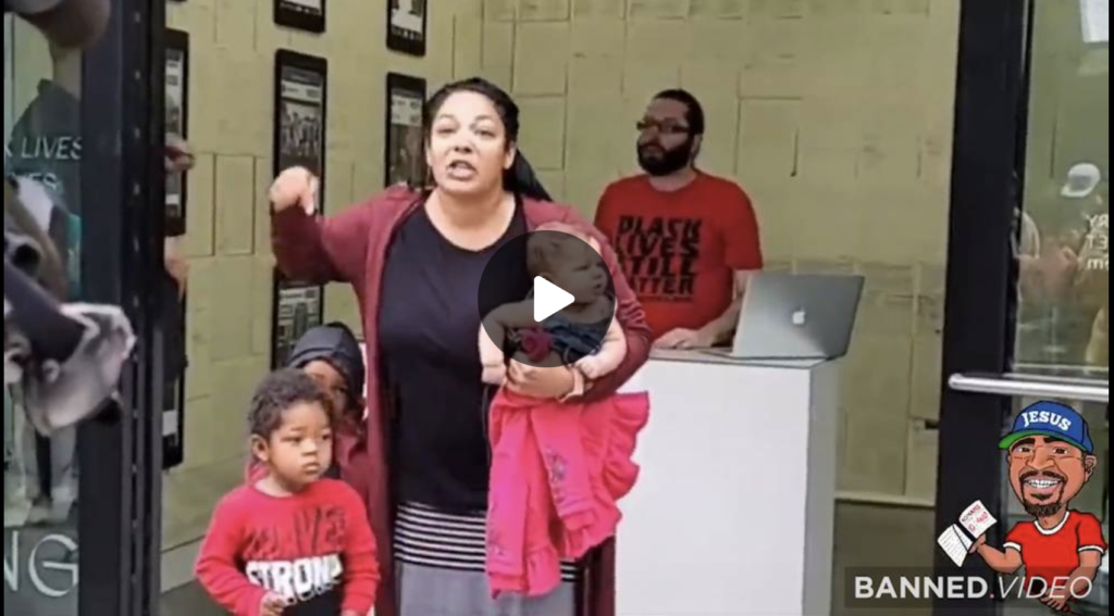 BLM Antifa Portland Press Conference Crashed By Black Woman EXZM Zack Mount August 24th 2021