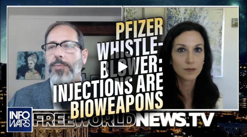 BOMBSHELL Pfizer Whistleblower Confirms Covid Injections are Poisonous Bioweapons EXZM Zack Mount August 4th 2021