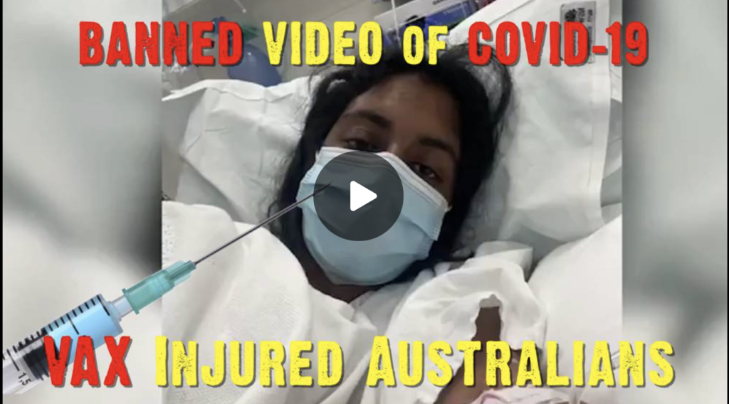 Banned Video of COVID-VAX Injured Australians EXZM Zack Mount August 17th 2021