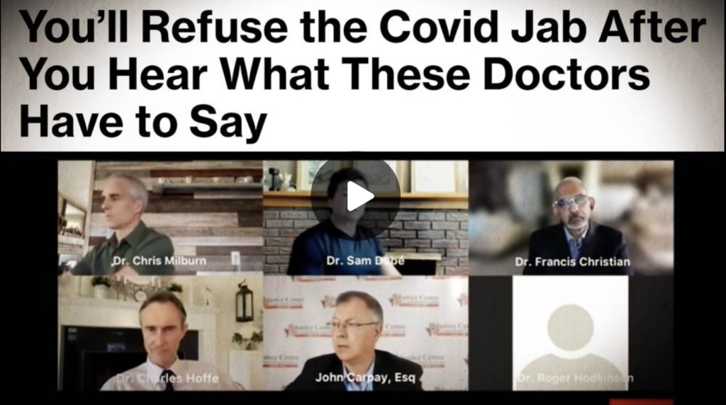 Doctors Are Waking Up And Warning The World Of The Deadly COVID Jab EXZM Zack Mount August 13th 2021