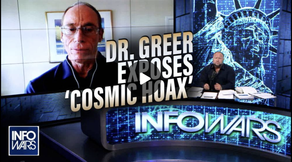 EXCLUSIVE Dr Greer Exposes the Cosmic Hoax MUST SEE EXZM Zack Mount August 2nd 2021