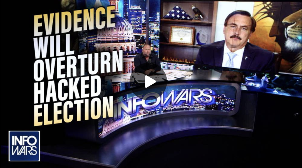 EXCLUSIVE Mike Lindell Release New Information He Says will Overturn 2020 Election EXZM Zack Mount August 6th 2021