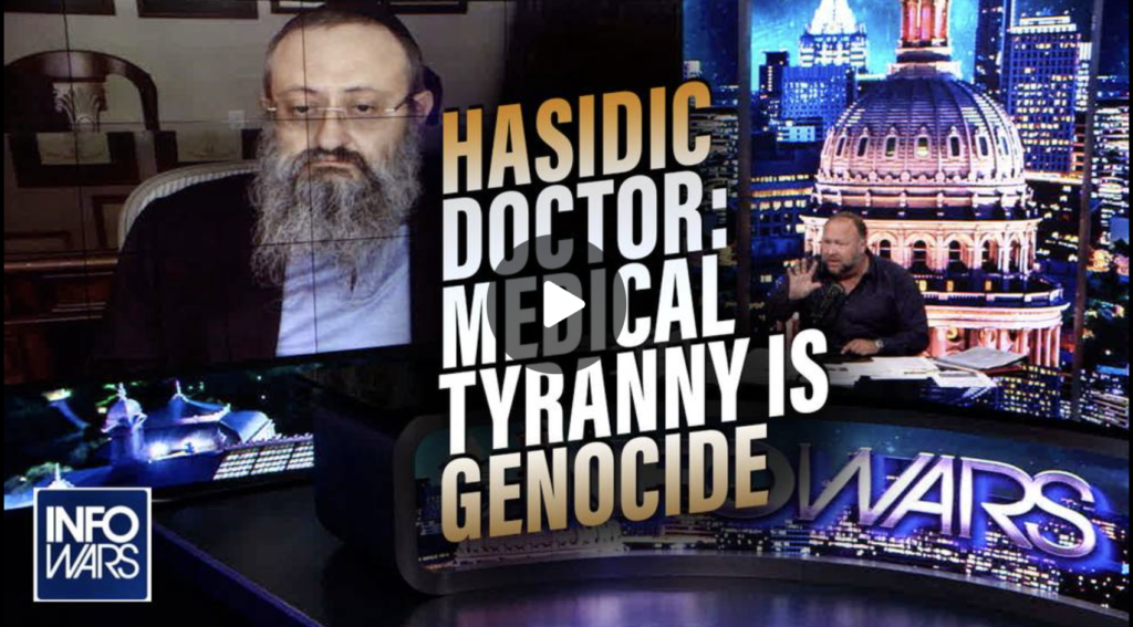 Hasidic Jewish Doctor COVID Medical Tyranny is Genocide Against the Innocent EXZM Zack Mount August 20th 2021