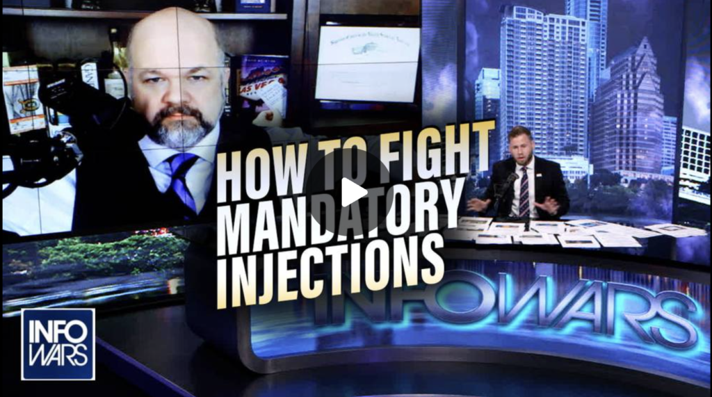 Learn How to Fight Mandatory Injections from Constitutional Attorney Robert Barnes EXZM Zack Mount August 13th 2021
