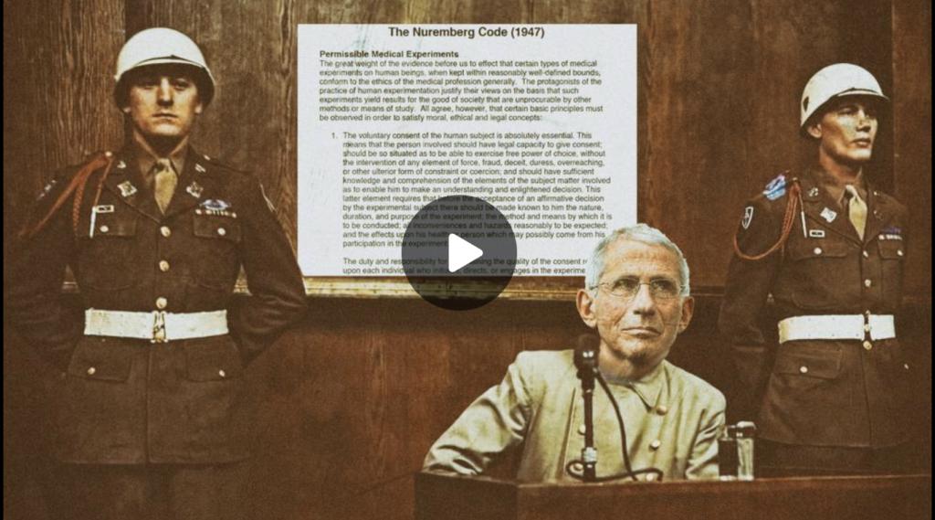 Nuremberg Code Punishable By Death EXZM Zack Mount August 22nd 2021