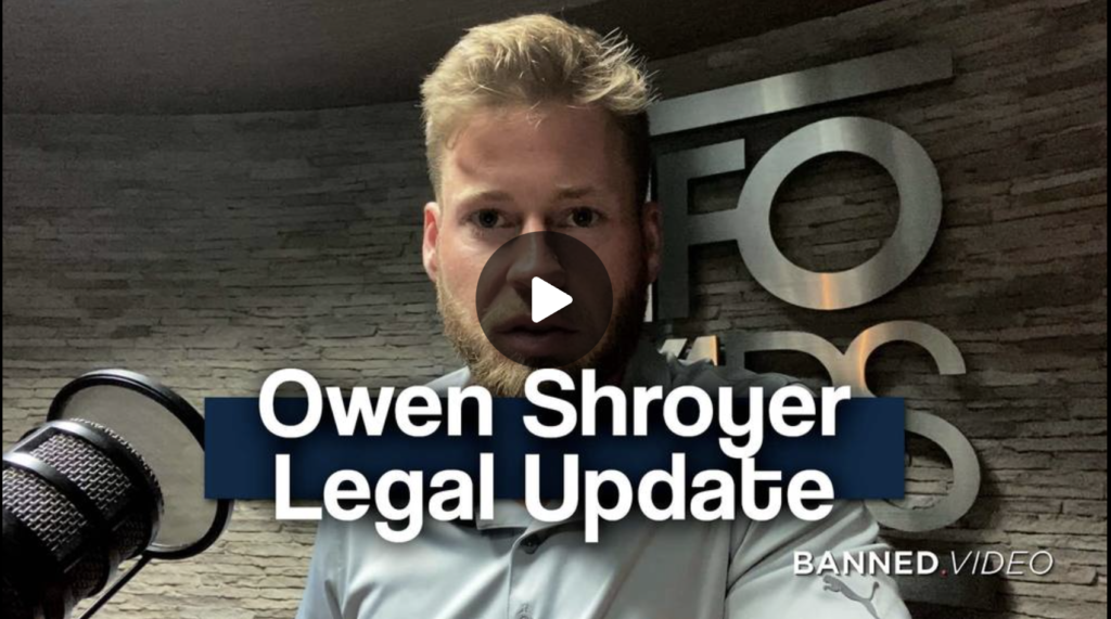 Owen Shroyer Gives Update On Legal Situation and Defense Funding EXZM Zack Mount August 22nd 2021