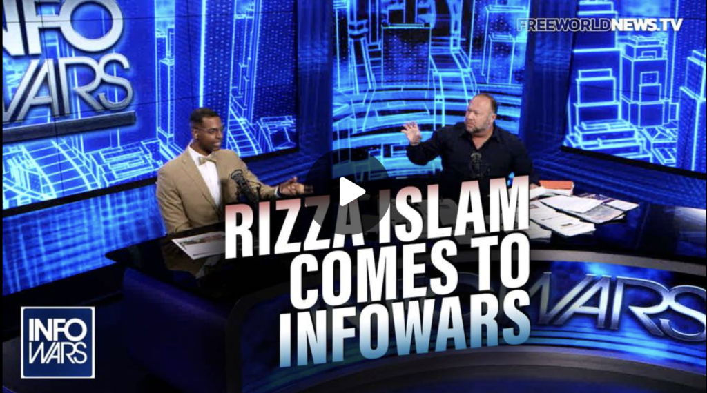 Prominent Nation of Islam Leader Rizza Islam Comes to Infowars EXZM Zack Mount August 3rd 2021