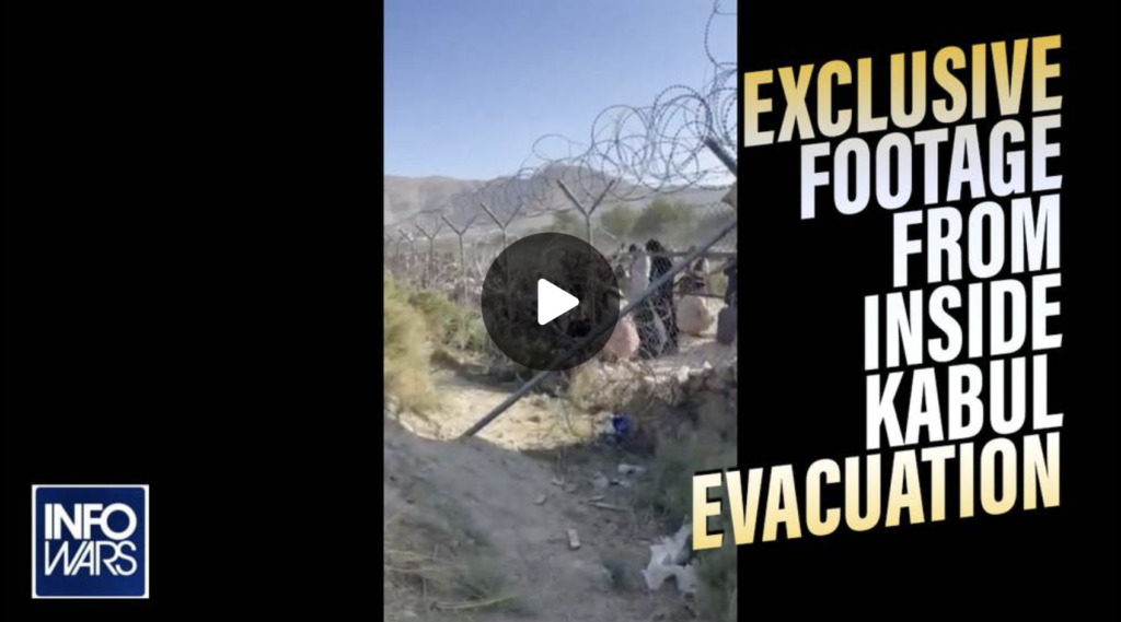 See the Exclusive Footage from Inside Kabul Evacuation EXZM Zack Mount August 27th 2021
