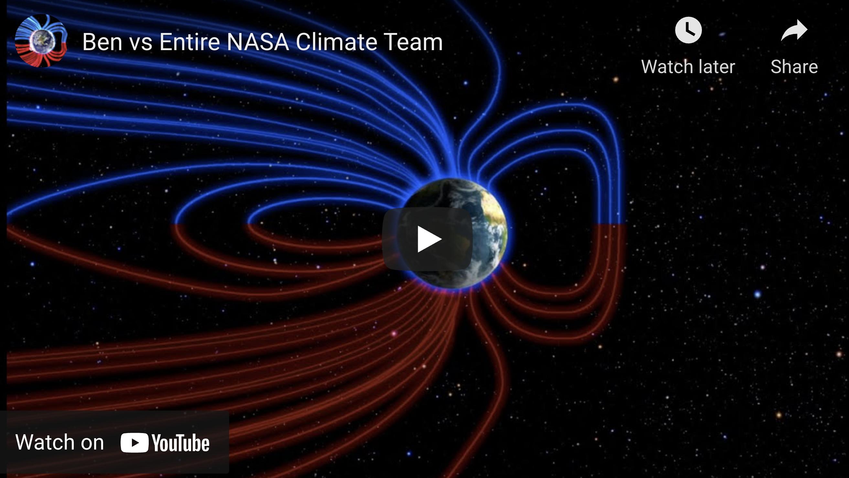 Suspicious Observers Post Ben vs Entire NASA Climate Team EXZM Zack Mount August 18th 2021