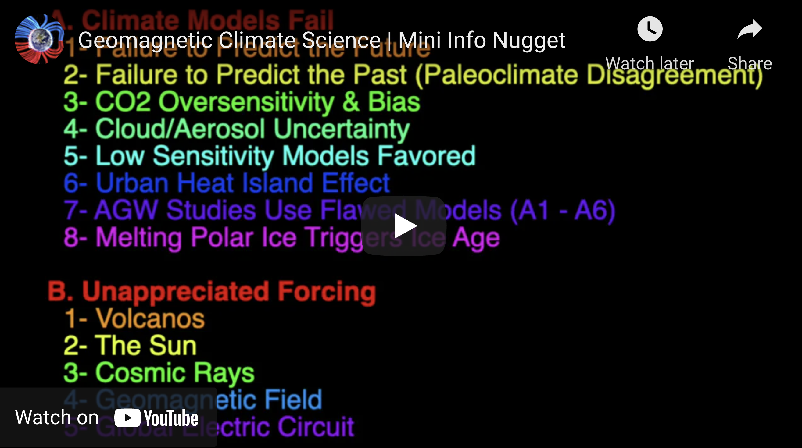 Suspicious Observers Post Geomagnetic Climate Science EXZM Zack Mount July 31st 2021