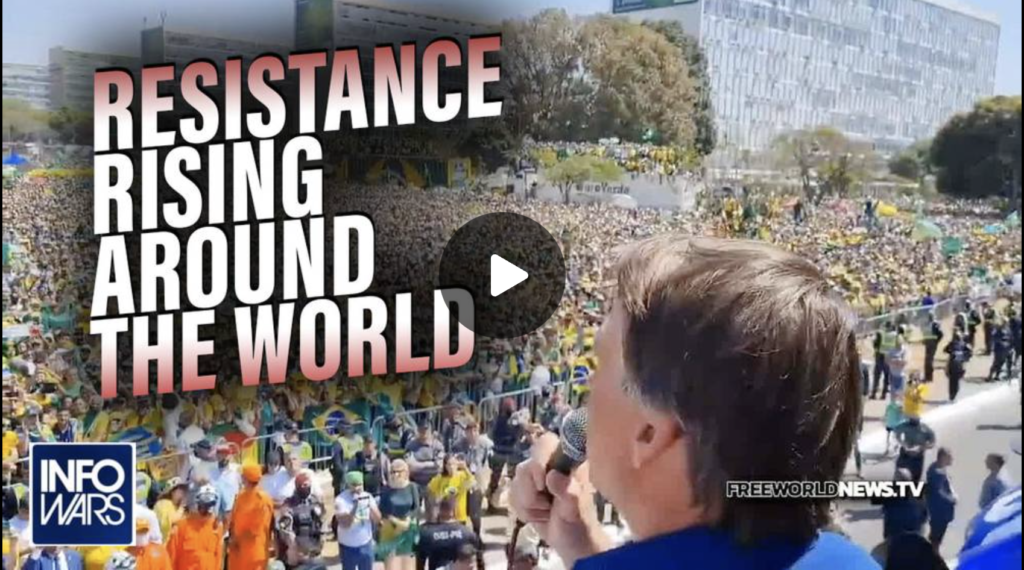 10 Million March with Bolsonaro Against Globalist Communist Tyranny MUST SEE EXZM Zack Mount September 8th 2021