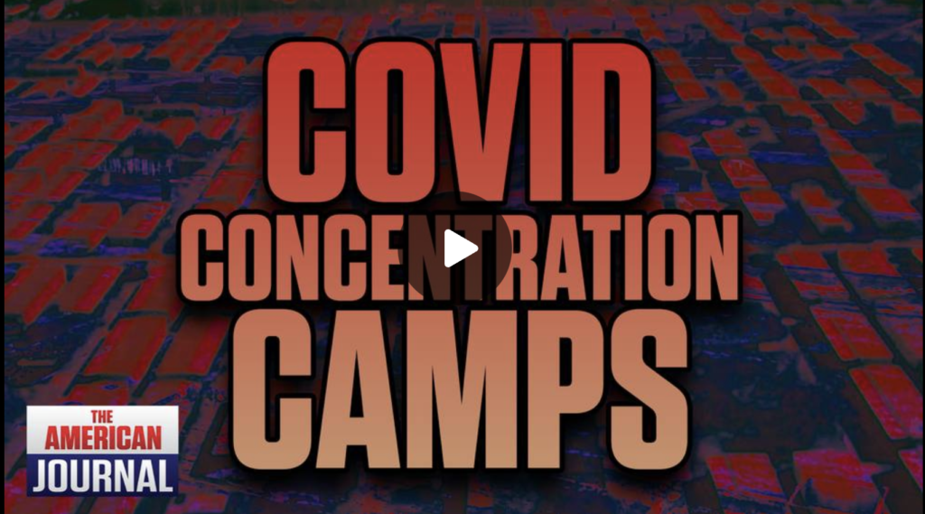 Aerial Photos of Covid Concentration Camps Revealed EXZM Zack Mount September 2nd 2021