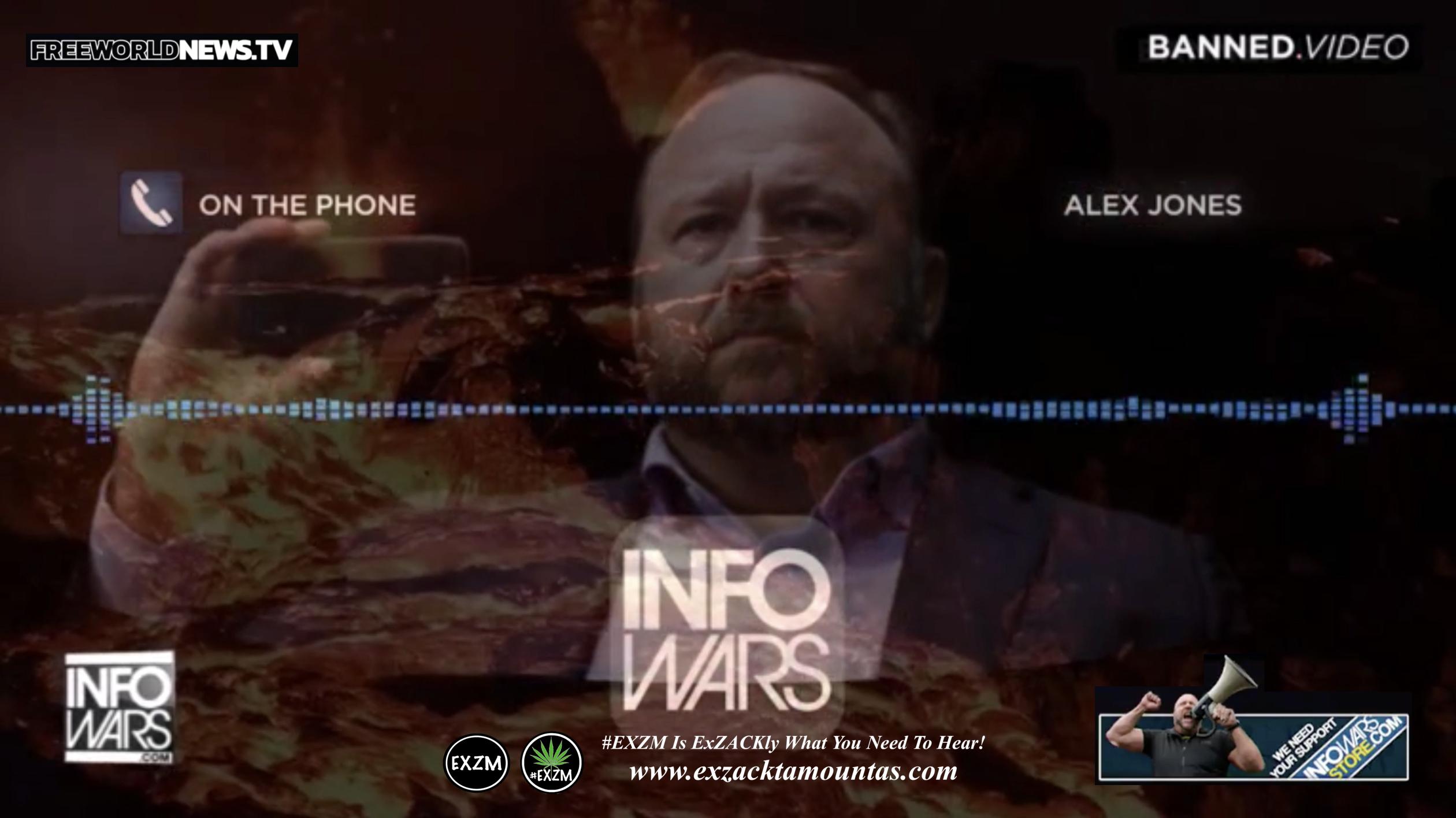 Alex Jones Live In Infowars Studio Free World News TV EXZM Zack Mount September 12th 2021