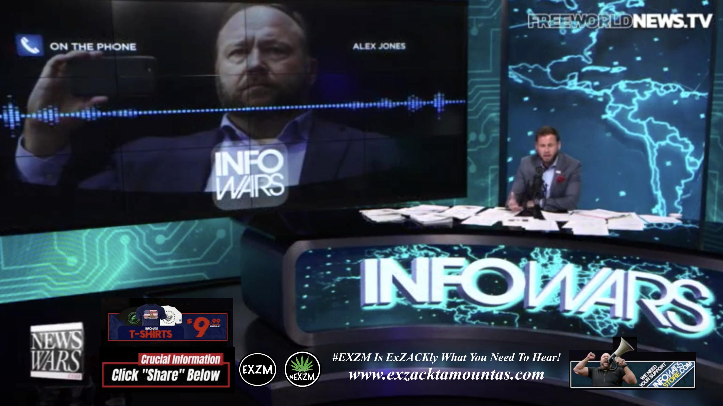 Alex Jones Owen Shroyer Live In Infowars Studio Free World News TV EXZM Zack Mount September 19th 2021 copy