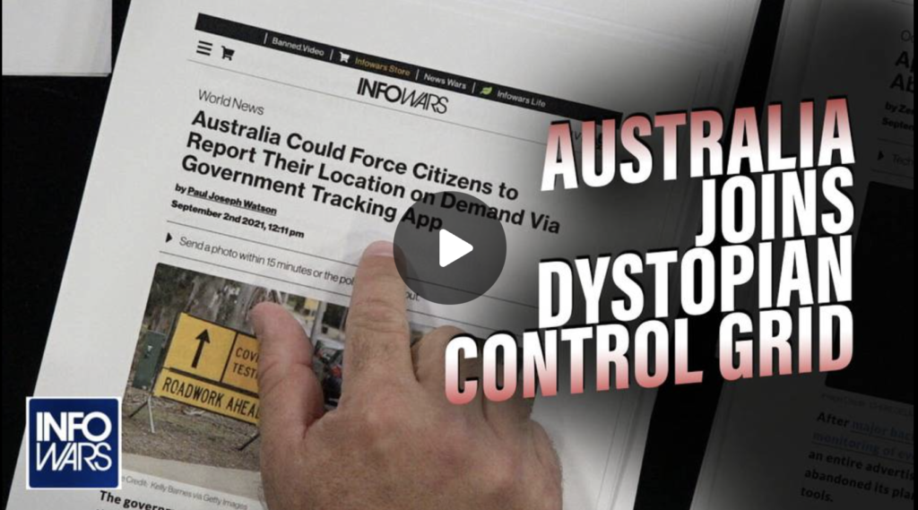 Australia Officially Joins Dystopian World ID Social Credit Score Control Grid EXZM Zack Mount September 3rd 2021