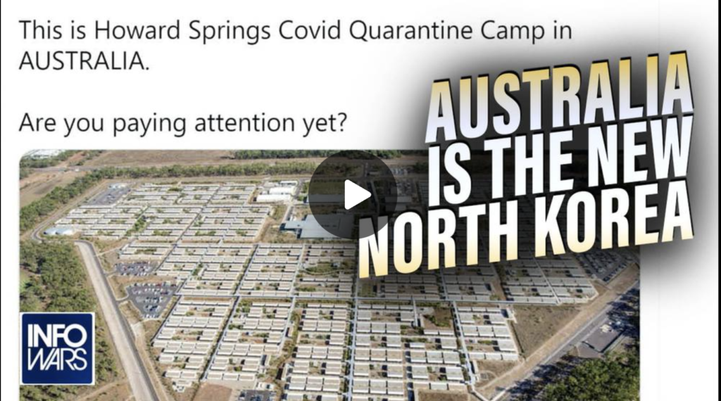 Australia is the New North Korea SHOCK VIDEO EXZM Zack Mount September 24th 2021