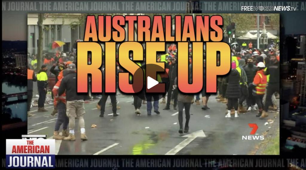 Australians Rise Up In Fury Over Lockdowns And Mandates EXZM Zack Mount September 21st 2021