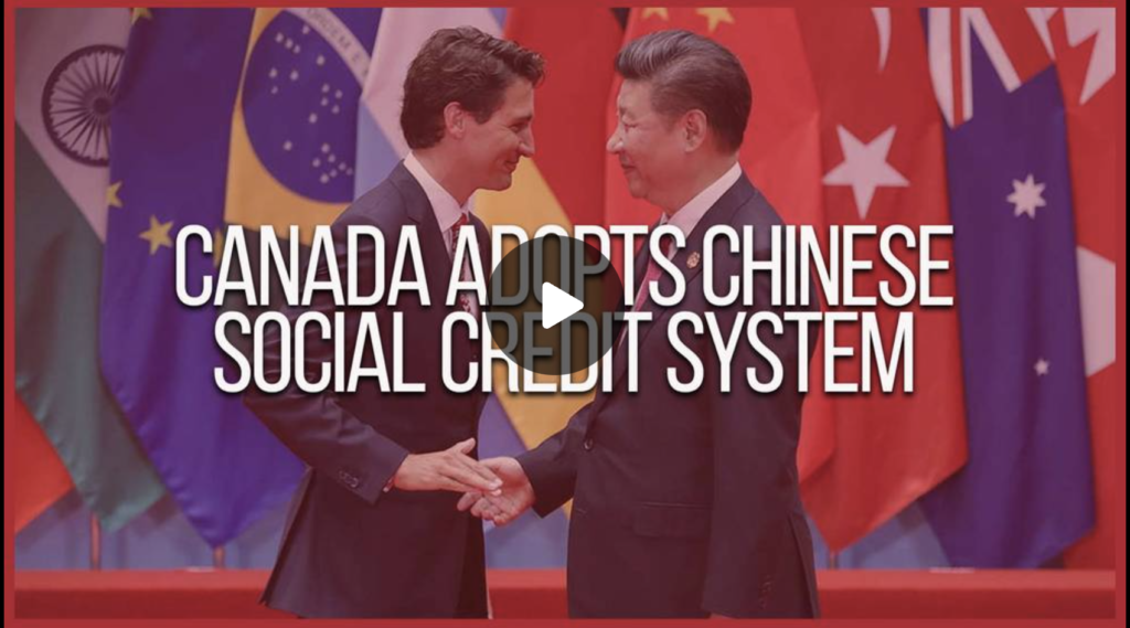 Canada Adopts Chinese Social Credit System EXZM Zack Mount September 12th 2021