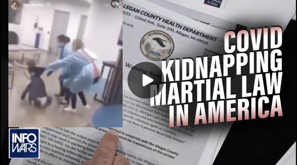 Child Sacrifice COVID Kidnapping Martial Law Arrives in America EXZM Zack Mount September 1st 2021