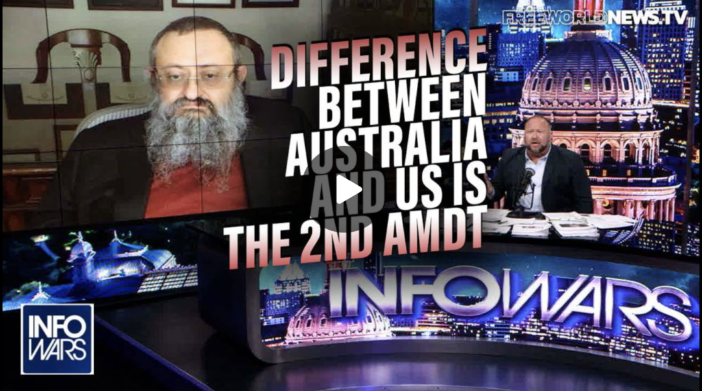 Dr Zelenko The Difference Between Australia and Us is We Have 450 Million Guns in the Hands of Citizens EXZM Zack Mount September 10th 2021