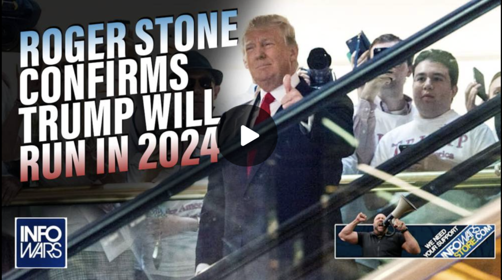 EXCLUSIVE Roger Stone Confirms Trump Will Run for President in 2024 EXZM Zack Mount September 9th 2021