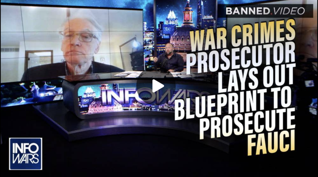 Former War Crimes Prosecutor Lays Out Blueprint to Prosecute Fauci and Co for Creating COVID19 EXZM Zack Mount September 8th 2021