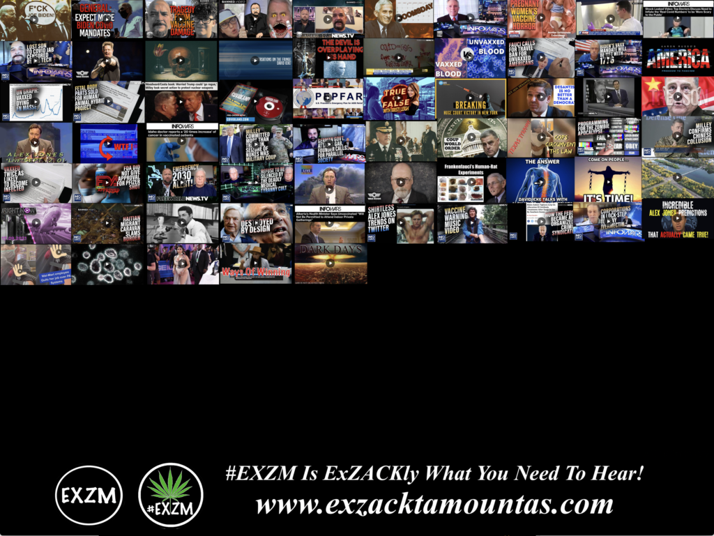 MOST WATCHED VIDEOS ON BANNED VIDEO DEEP STATE GLOBALISTS DEPOPULATION ELECTION FRAUD AND MUCH MORE EXZM Zack Mount September 12th 2021 page 5