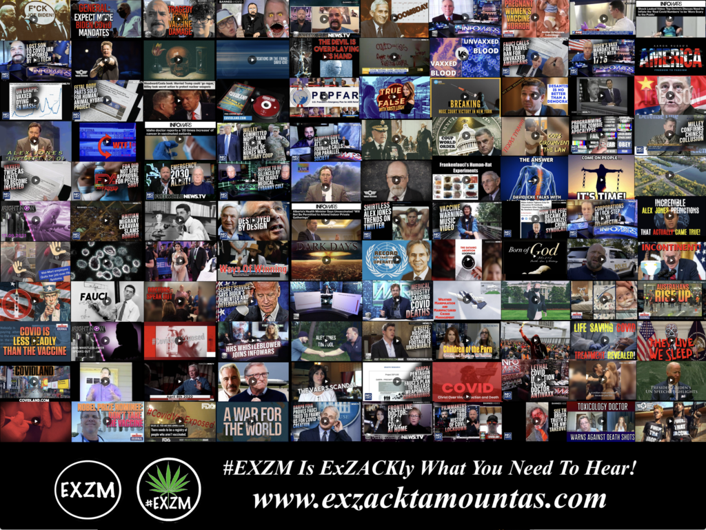 MOST WATCHED VIDEOS ON BANNED VIDEO DEEP STATE GLOBALISTS DEPOPULATION ELECTION FRAUD AND MUCH MORE EXZM Zack Mount September 29th 2021 page 5