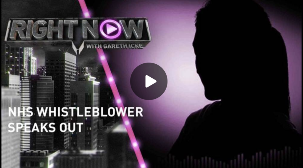 NHS whistleblower speaks out Right Now Ickonic EXZM Zack Mount September 21st 2021