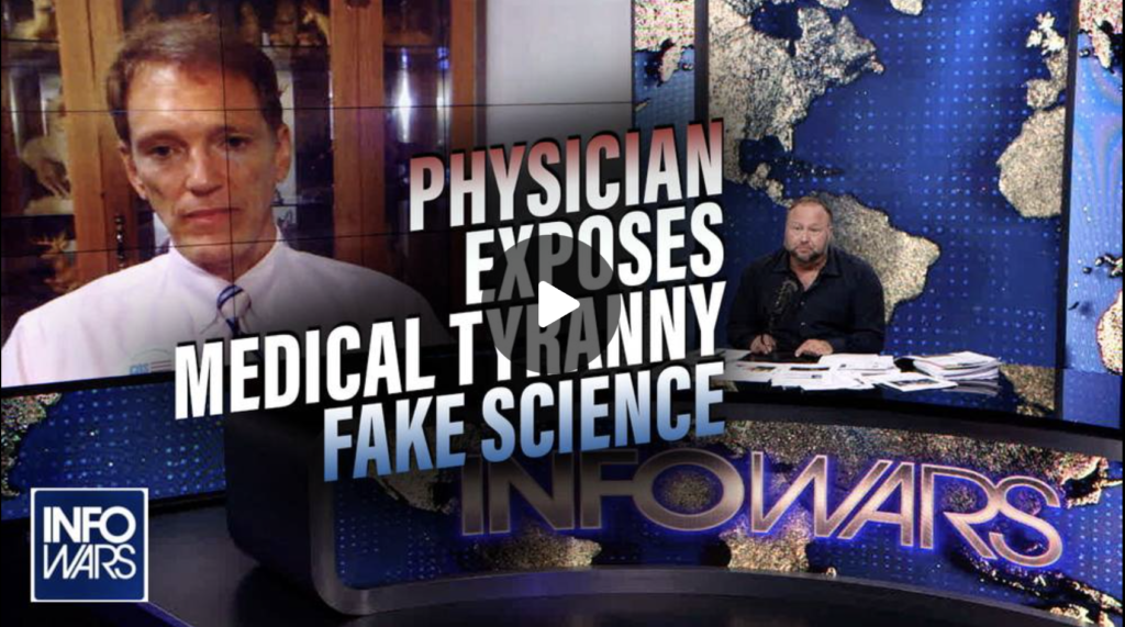 Physician in Viral School Board Video Joins Infowars to Expose Medical Tyrannys Fake Science EXZM Zack Mount September 3rd 2021
