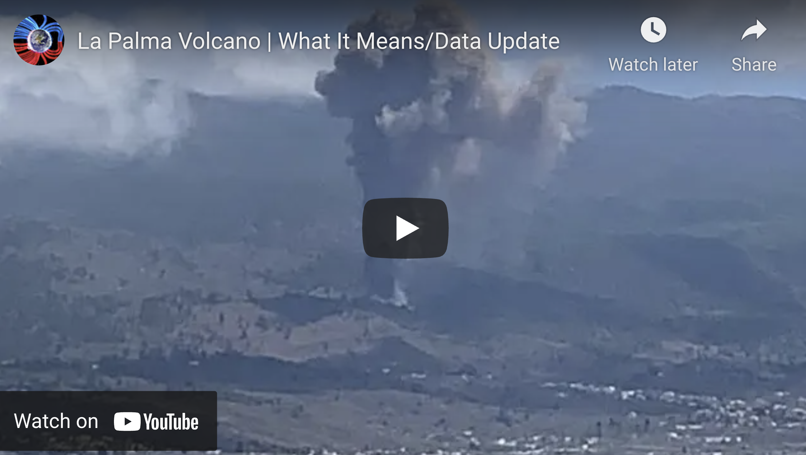 Suspicious Observers Post La Palma Volcano What It Means Data Update EXZM Zack Mount September 19th 2021
