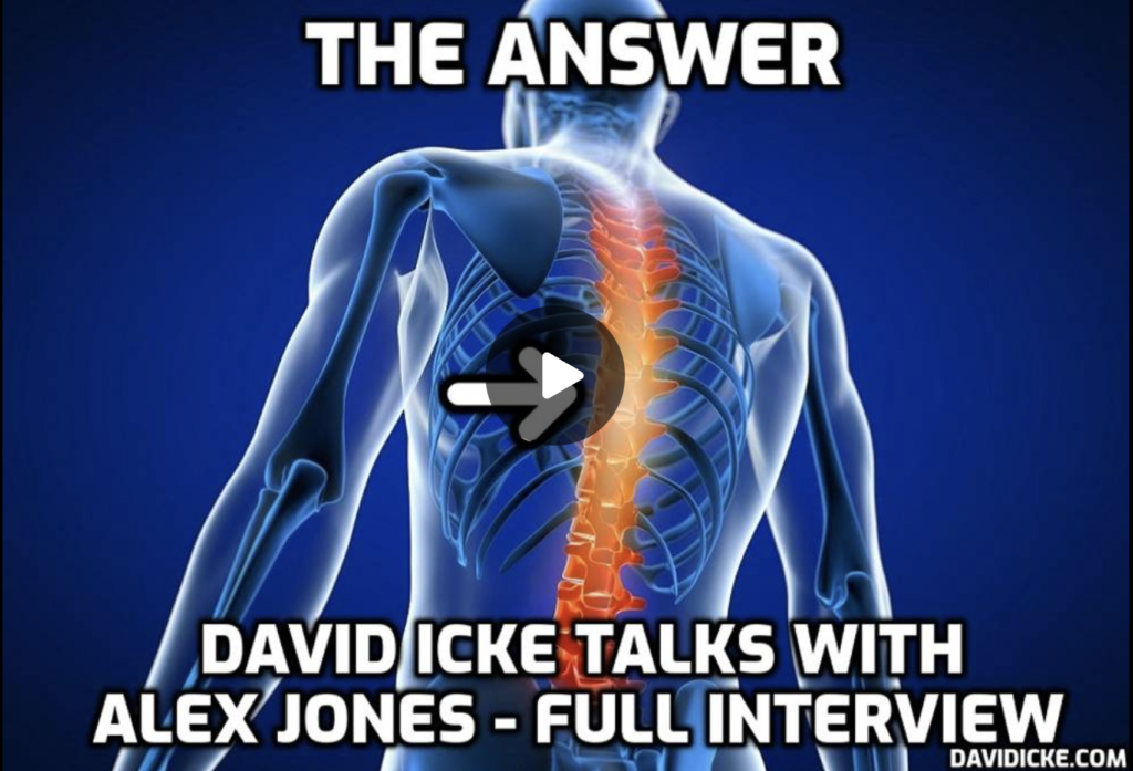 The Answer David Icke Talks With Alex Jones Full Interview EXZM Zack Mount September 17th 2021