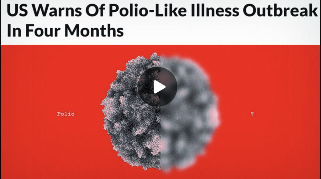 US Officials Warn Of Polio Like Illness Coming In 4 Months EXZM Zack Mount September 9th 2021