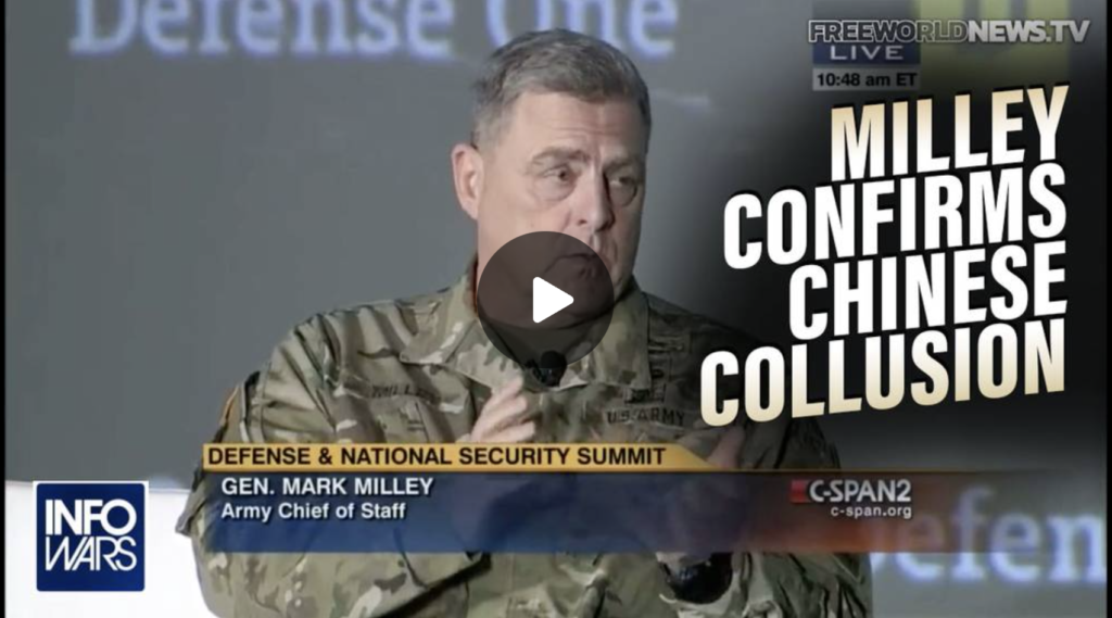 VIDEO Biden Says China Owns America Milley Confirms Chinese Collusion EXZM Zack Mount September 16th 2021