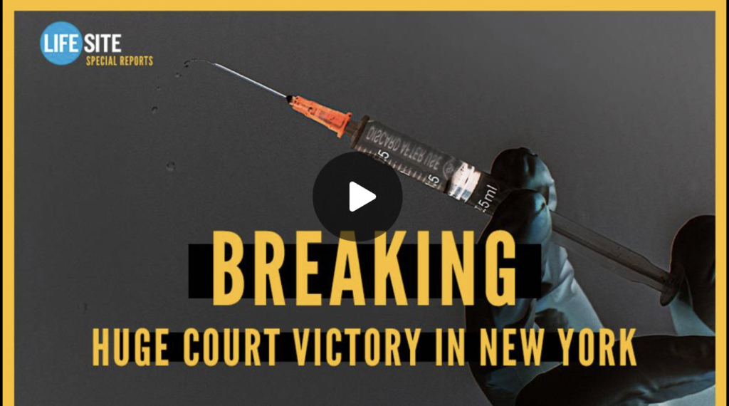 Vaccine mandate halted in New York for religious exemptions EXZM Zack Mount September 15th 2021