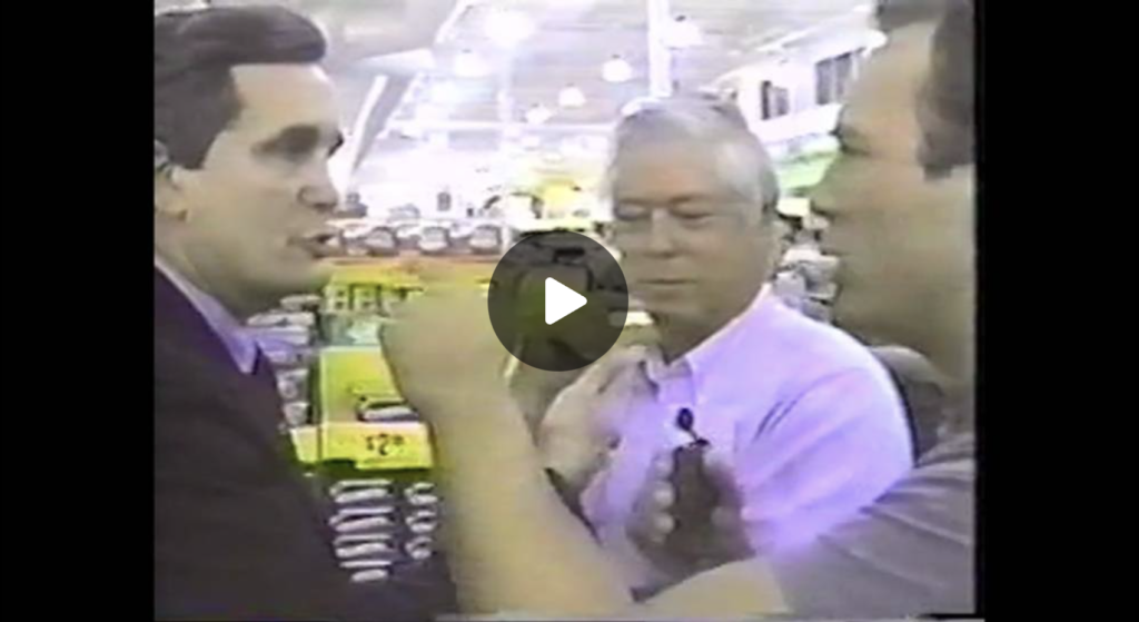 Very Rare Censored Footage of Alex Jones Confronting Congressman Lloyd Dogget NWO Interview with Tony Brown 1990s EXZM Zack Mount September 25th 2021