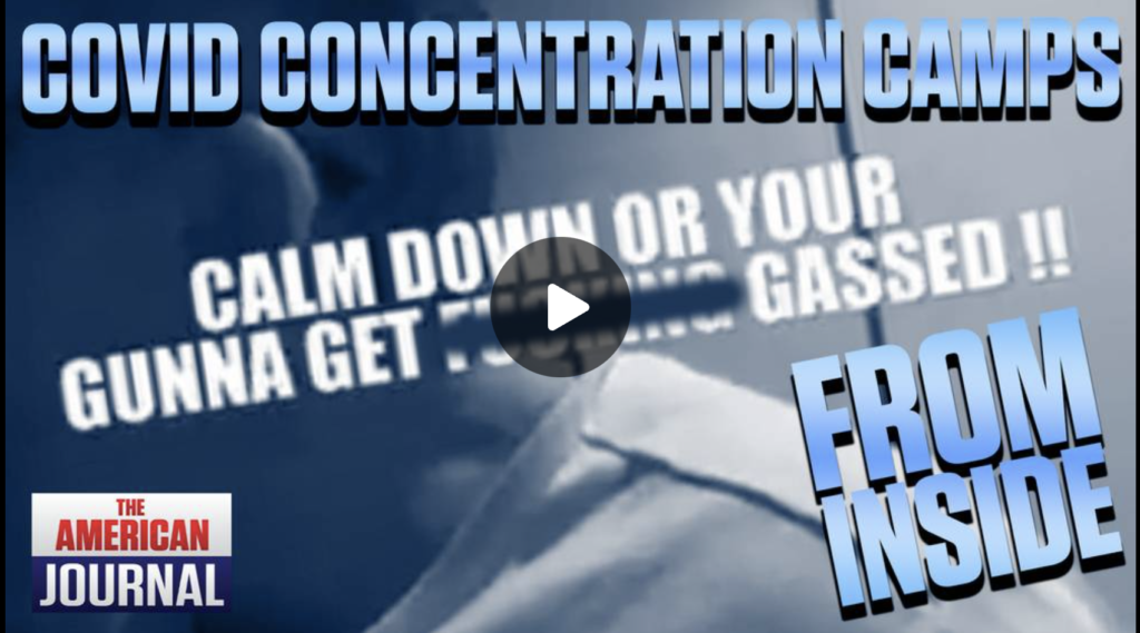 WATCH Footage From Inside Covid Concentration Camps EXZM Zack Mount September 6th 2021